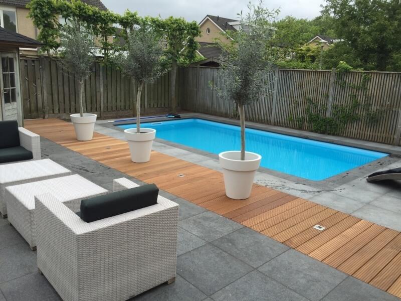 Projecten di jo zwembaden for Zwembaden in tuin